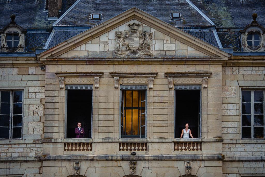 Maries aux fenêtres du château de Brognon